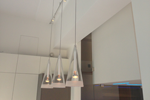 Pendant and track lighting